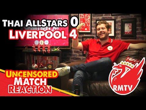 Thai All Stars 0-4 Liverpool: