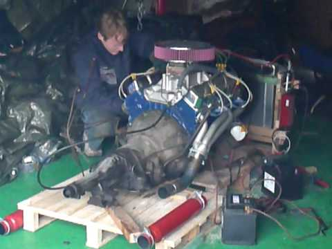 Amc 304 Cui V8 Start With Open Headers
