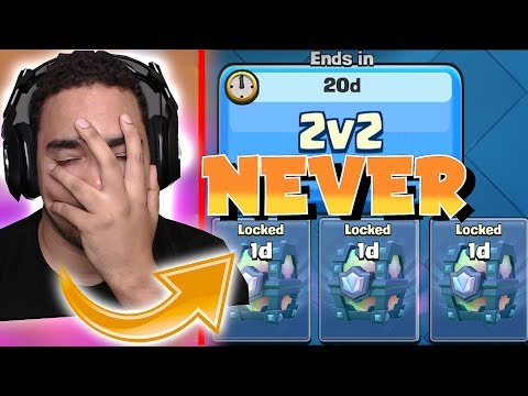 YOU WILL NEVER GET THIS!! | CLASH ROYALE | 2v2 OWNAGE!!