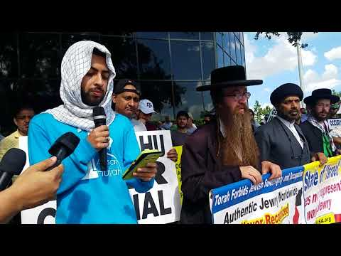 PROTEST FOR PALASTIEN OUTSIDE ISRAEL EMBASSY IN HOUSTON,TX(9)