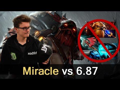 Miracle Pudge vs 6.87 — 8700 MMR Dota 2