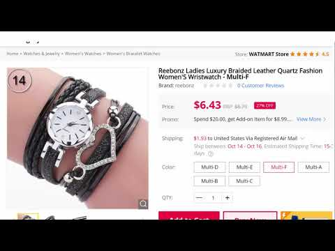 36 COOL WOMEN WATCHES AVAILABLE ON GEARBEST!