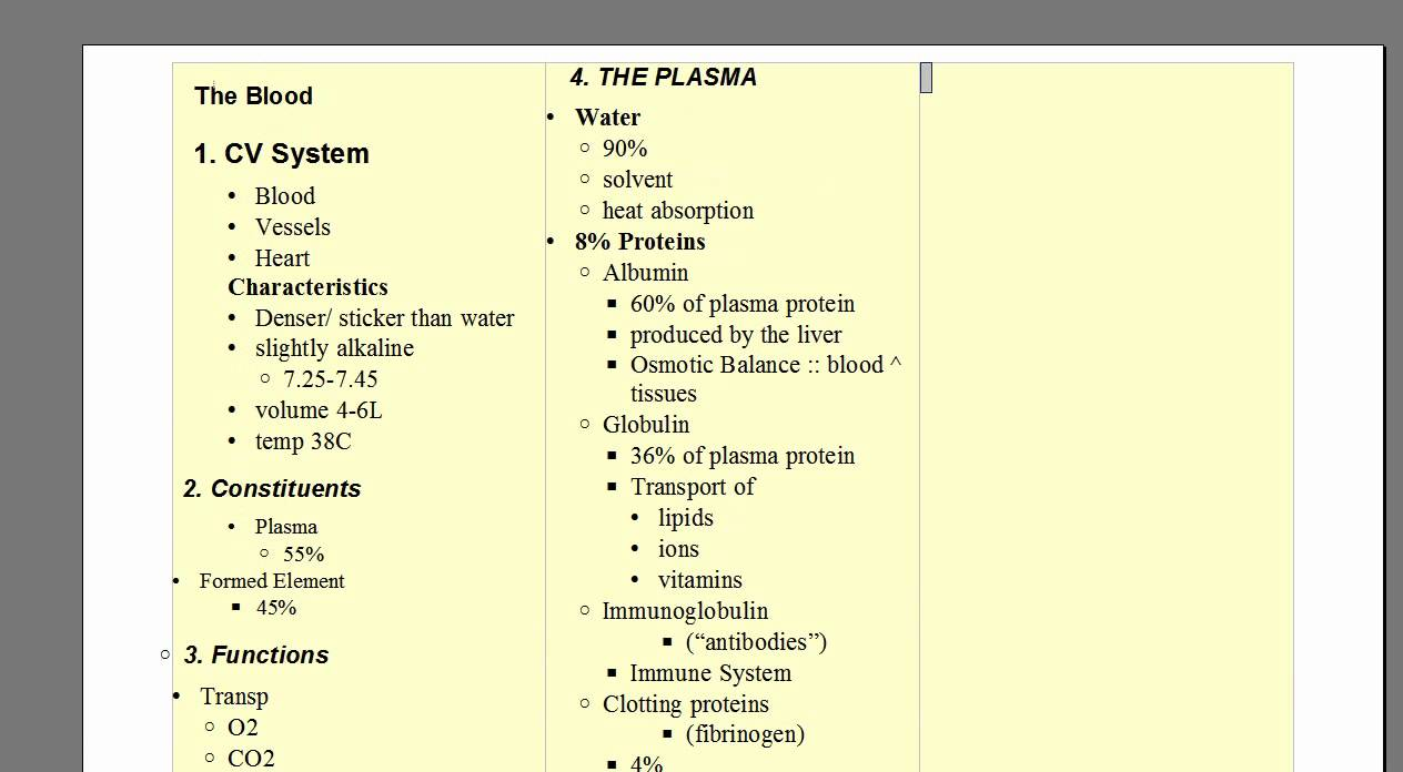 Blood Part 01 - Anatomy and Physiology Lecture A&P (Cardiovascular ...