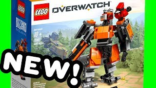 NEW LEGO Overwatch Blizzard Exclusive Omnic Bastion 75987 Pictures + My Thoughts