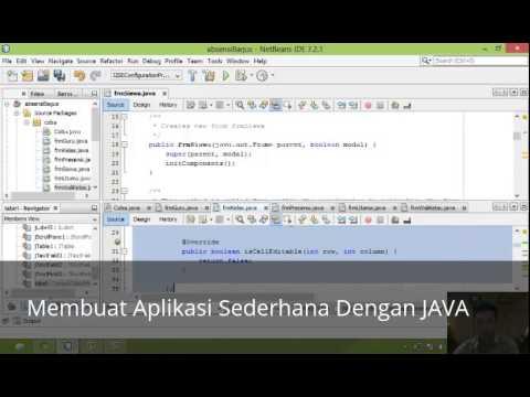 Membuat Aplikasi Web Dengan Java Netbeans