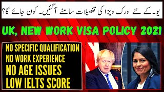 GOOD NEWS: UK NEW IMMIGRATION (WORK VISA) POLICY - POINTS BASED INFORMATION RELEASED