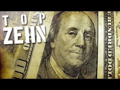 10 interessante Fakten über Geld
