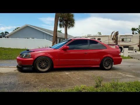 99 Civic SI (em1) Invidia N1 catback exhaust