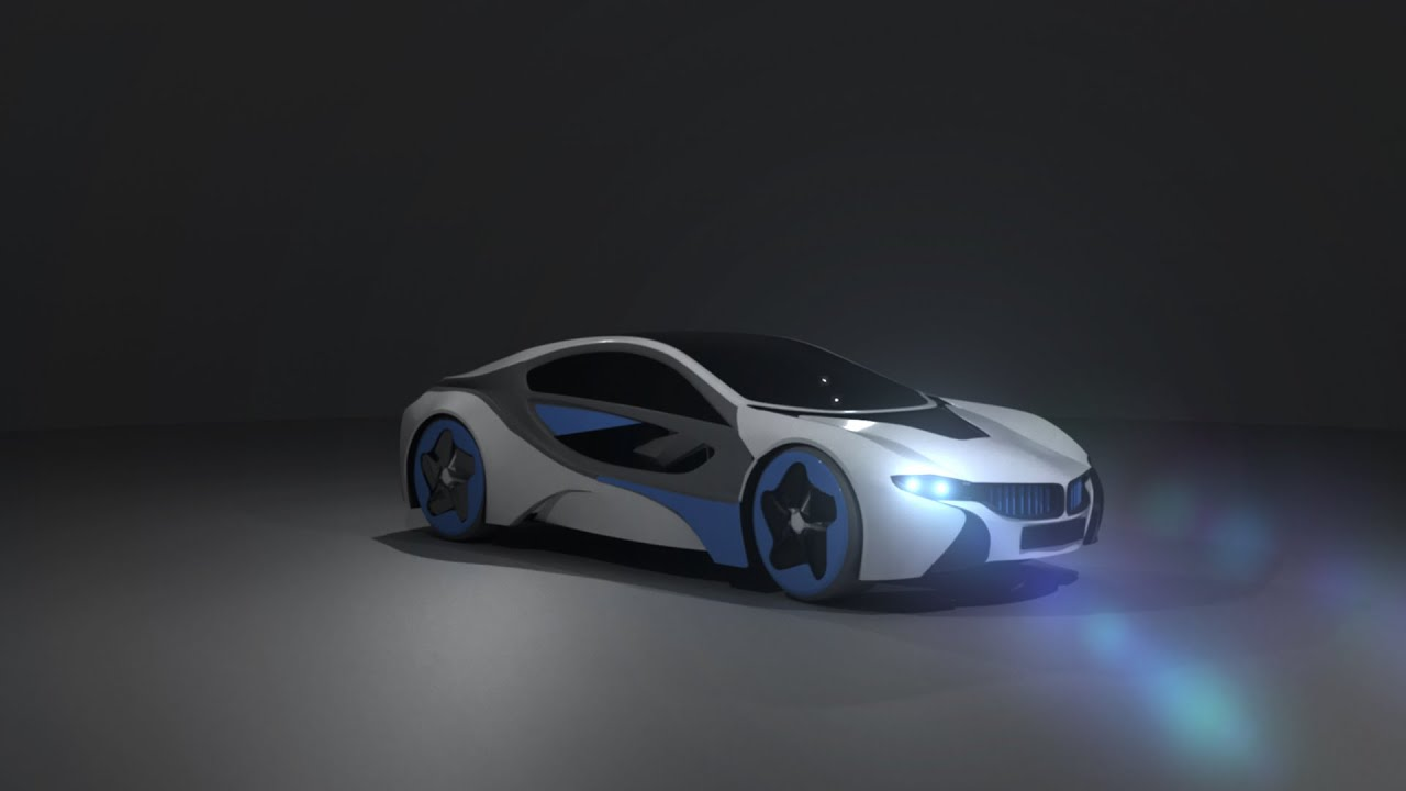 Modeling Bmw I8 3ds Max Tutorial Part 1 Youtube