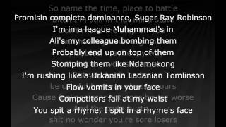 Eminem - Groundhog Day (lyrics)