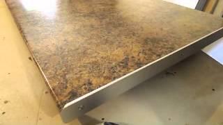 видео Замена Старой Столешницы из ДСП, Искусственного Камня Или Стекла на Кухне на Новую