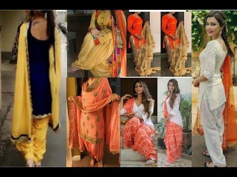 Top patiala shahi salwar suits design || beautiful punjabi girls suits indian designs video 2018