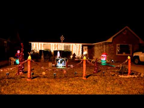 2014 - Gemmy Lightshow Christmas Lights - Jingle Bells