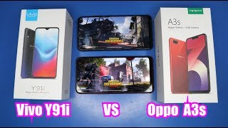 Vivo Y91i VS Oppo A3s (PUBG, Battery and Speed)