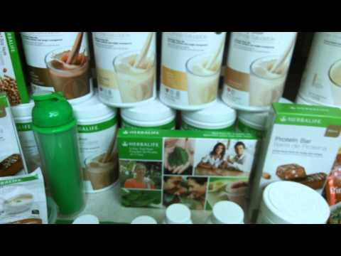 My Herbalife Products and Routine