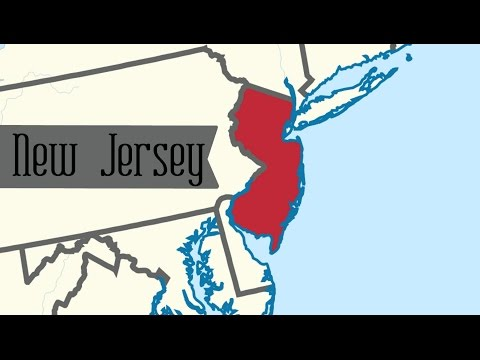 Two Minute Tour of New Jersey: 50 States for Kids - FreeSchool