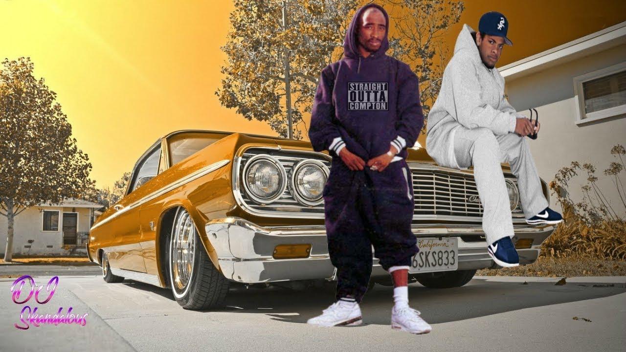 2pac Amp Eazy E No Vaseline 2018 Lowrider Music Video