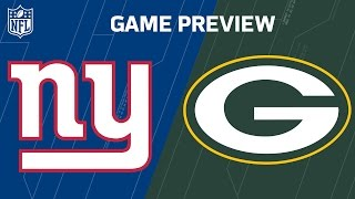 Giants vs. Packers (Week 5 Preview) | Move the Sticks | NFL
