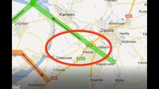 Hoog over Wezep vertelt over laatste stand vliegveld Lelystad