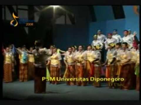 O Ulate - PSM UNDIP ( DIPONEGORO UNIVERSITY CHOIR ) @ FPS ITB XXI 2008