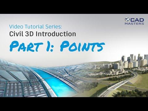 Civil 3D Tutorial 1: Points