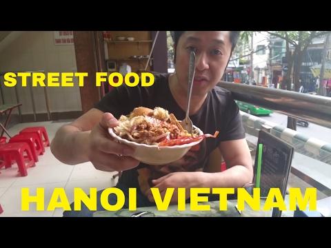 Hanoi Street Food Nightlife Vietnam Part 4