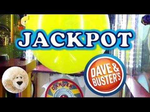 Jackpot Pop Win Balloon Arcade Game At Dave Busters