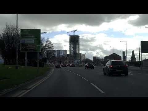 Liverpool Docks Drive, Virtual Tour, England, UK 🇬🇧