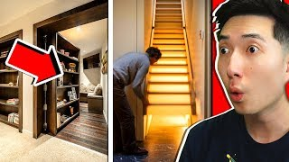 People Finding SECRET ROOMS in Their Homes !