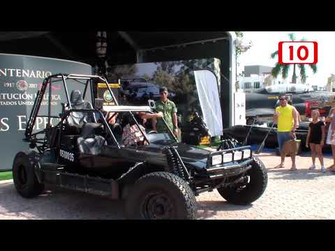 Supera récord de asistencia Expo Militar en Playa del Carmen