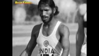 Milkha Singh-Still Running on a Dream.