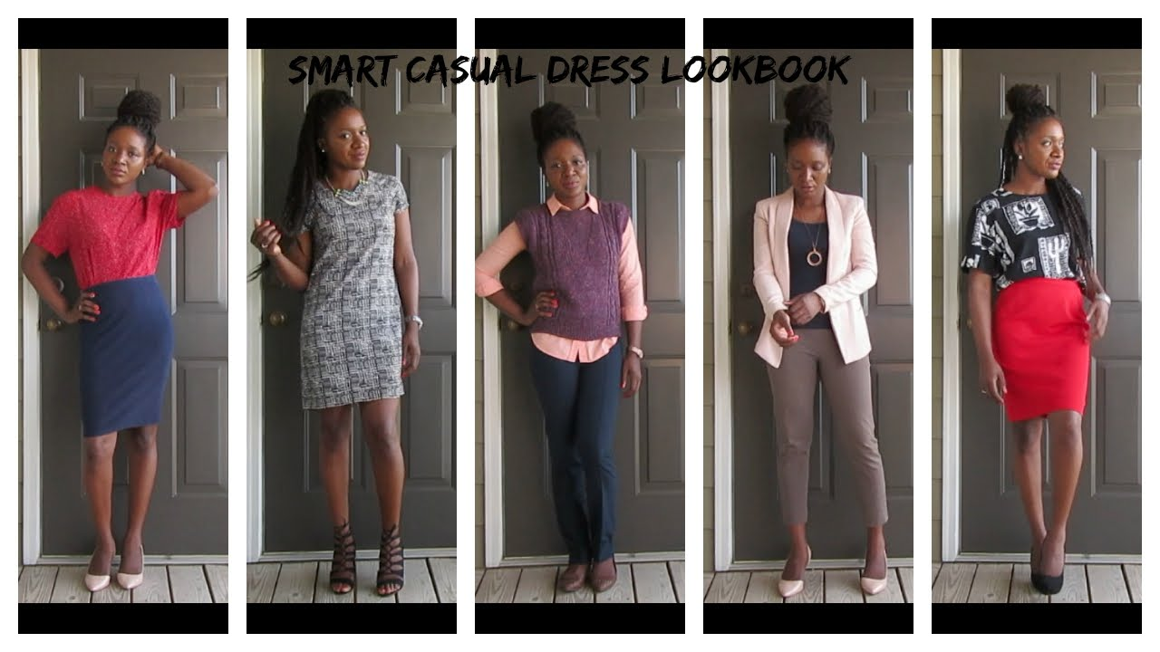 Smart Casual Lookbook | Women's Wear | Jen NaturallyHypp - YouTube