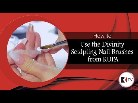 How to Use the Divinity Sculpting Nail Brushes from KUPA