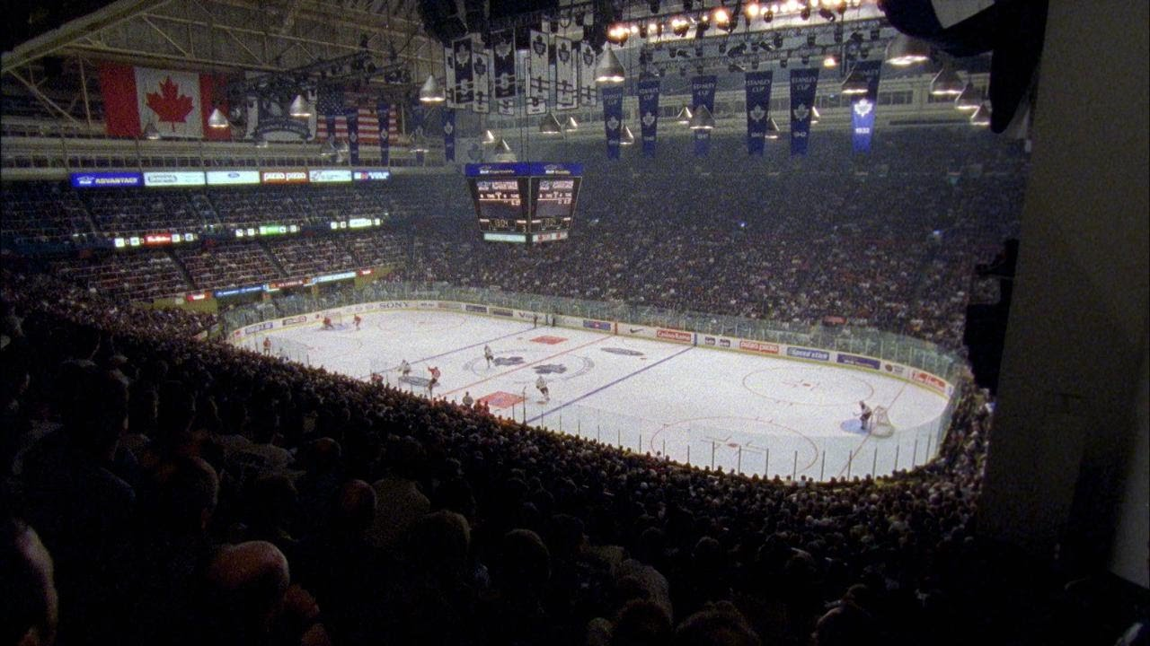Memories Leafs play last game at Maple Leaf Gardens  YouTube