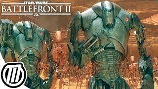 Star Wars Battlefront 2: B2 SUPER BATTLE DROID | Clone Wars Gameplay