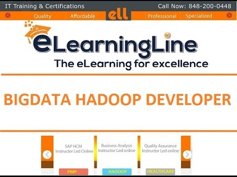 Big Data Hadoop training  - HDFS JAVA API Class by elearningline.com@ 848-200-0448