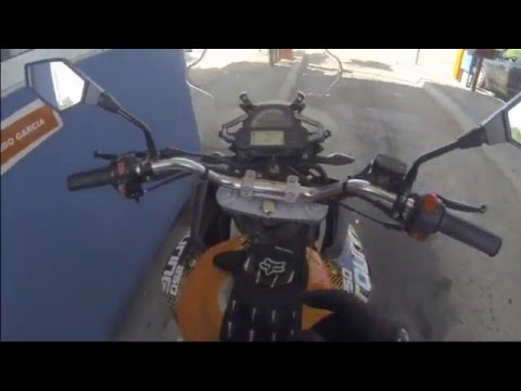 GoPro Corven Triax Touring 250 - Uruguay 2015