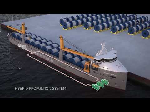 Maritime Projects 10.000DWT Hybrid cargo vessel ''AWARE''