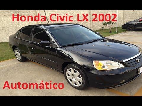Honda Civic Lx 1 7 115cv Automático 2002