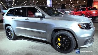 2018 Jeep Grand Cherokee Trackhawk - Exterior Interior Walkaround & Engine - 2017 New York Auto Show