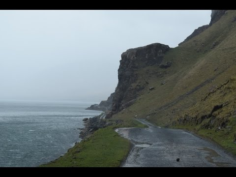 Scenic Drive on Isle of Mull - Scotland