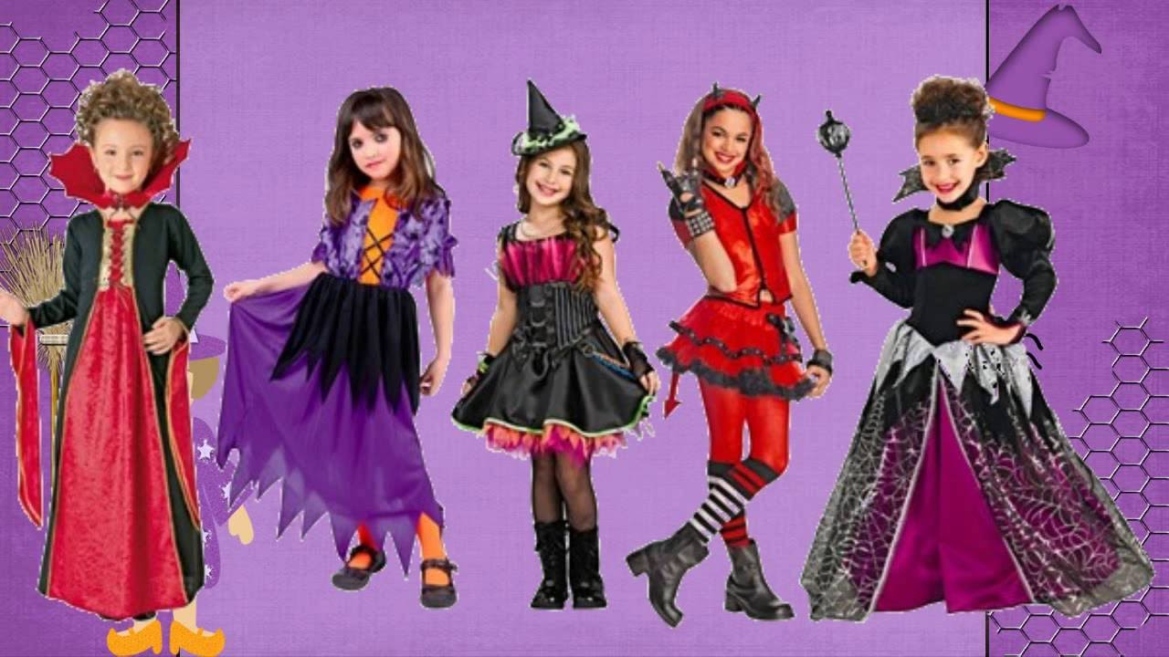 Disfraz Para Niñas En Halloween Youtube