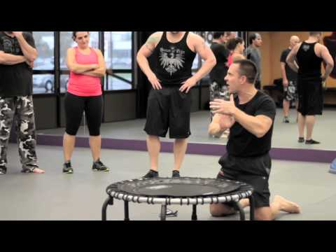 JumpSport Fitness Trampoline - Burn With Kearns!