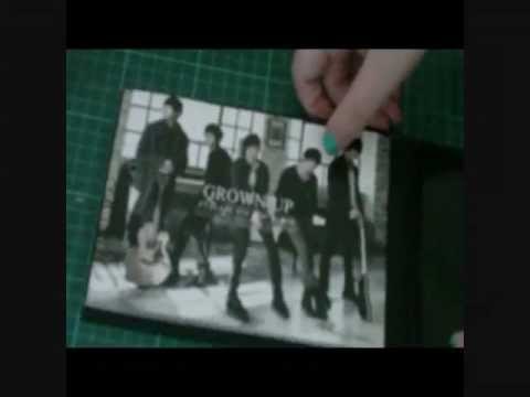 FT Island - Grown up (unboxing)