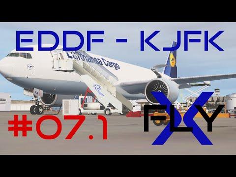 FlyX #07.1  Frankfurt - New York (GEC 777F) [FullHD]