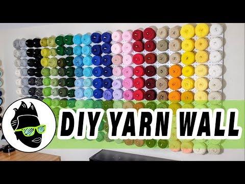 DIY Yarn Wall Build Project 👩🏾🔧