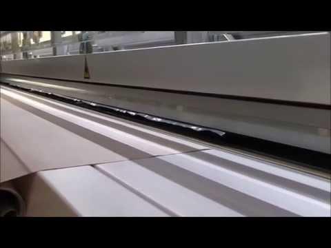 Matic Ares Plus Fabric Welder Zipper Guide Pneumatic Demo by Media One (www.mediaoneusa.com)
