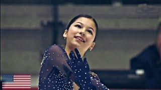 Alysa Liu Алиса Лью Произвольная программа Чемпионат мира среди юниоров 2020