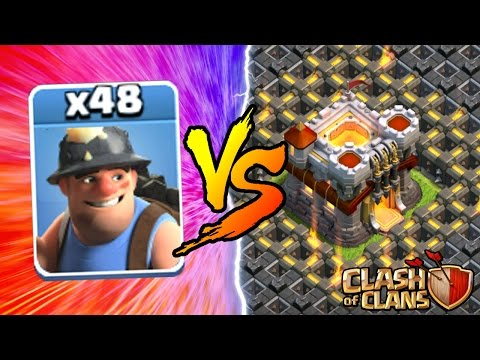 Thumbnail: Clash Of Clans | ALL MINERS vs TOWN HALL 11! NEW INSANE GAME PLAY! | MAY 2016 UPDATE!