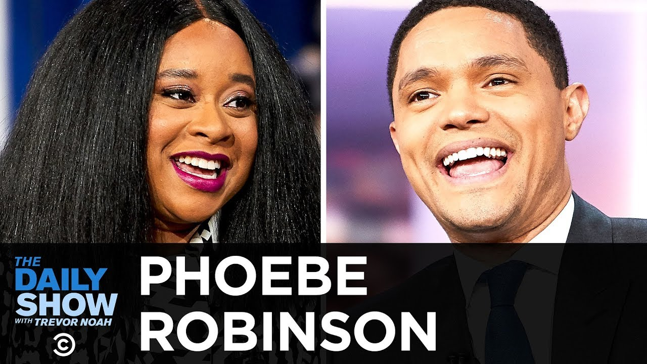 "Phoebe Robinson - Soaking in the Success of ""2 Dope Queens"" 